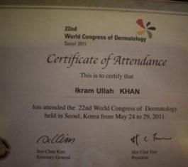 prof. Dr. Ikram Ullah Khan, best dermatologist in islamabad, top dermatologist in islamabad, Skin doctor, laser hair removal,dermatologist near me
